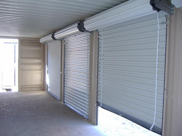 Security doors security roll down doors for Roll down garage door screen